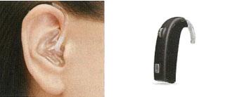 小型耳かけ型